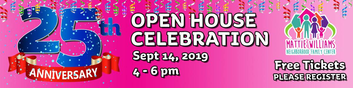25th Anniversary Open House Banner